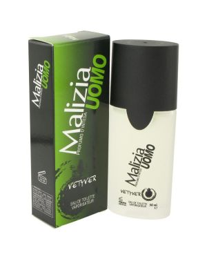 Malizia Uomo by Vetyver Eau De Toilette Spray 1.7 oz for Men