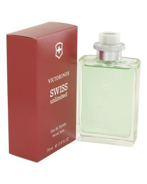 Swiss Unlimited by Victorinox Eau De Toilette Spray 2.5 oz for Men