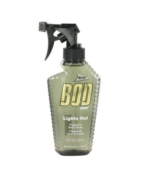 Bod Man Lights Out by Parfums De Coeur Body Spray 8 oz for Men