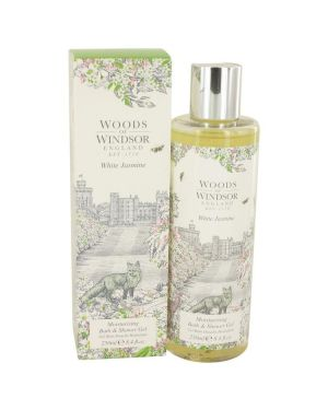 White Jasmine by Woods of Windsor Shower Gel 8.4 oz for Women