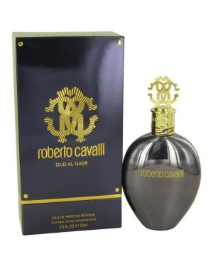 Roberto Cavalli Oud Al Qasr by Roberto Cavalli Eau De Parfum Intense Spray 2.5 oz for Women