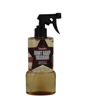 Kanon Boot Camp Warrior Desert Soldier by Kanon Body Spray 10 oz for Men