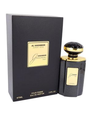 Al Haramain Junoon Noir by Al Haramain Eau De Parfum Spray 2.5 oz for Women