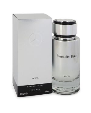 Mercedes Benz Silver by Mercedes Benz Eau De Toilette Spray 4 oz for Men