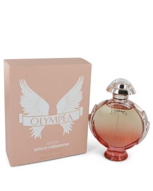 Olympea Aqua by Paco Rabanne Eau De Parfum Legree Spray 2.7 oz for Women