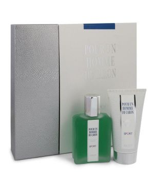 Caron Pour Homme Sport by Caron Gift Set -- 2.5 oz Eau DE Toilette Spray + 2.5 oz Shower Gel for Men