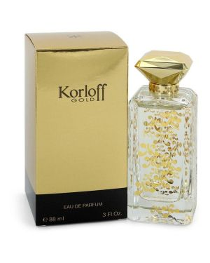 Korloff Gold by Korloff Eau De Parfum Spray 3 oz for Women