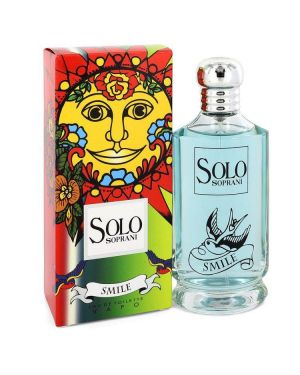 Solo Smile by Luciano Soprani Eau De Toilette Spray 3.4 oz for Women