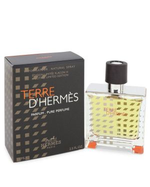 Terre D'Hermes by Hermes Pure Perfume Spray (Limited Edition 2019) 2.5 oz  for Men
