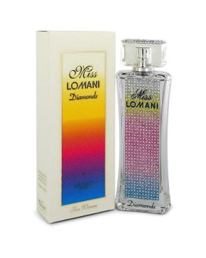 Miss Lomani Diamonds by Lomani Eau De Parfum Spray 3.3 oz for Women