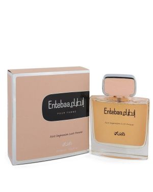 Entebaa by Rasasi Eau De Parfum Spray 3.33 oz for Women