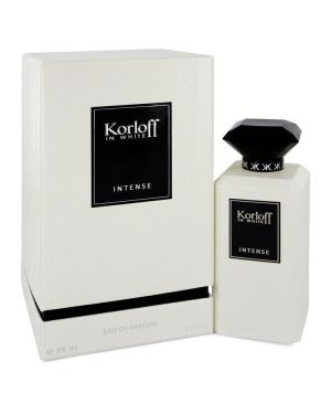 Korloff In White Intense by Korloff Eau De Parfum Spray 3 oz for Women